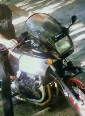 Eine Kawasaki