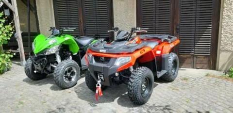 Arctic Cat Alterra 400 4x4 LOF Allrad Quad ATV 2 Zulassung Kymco