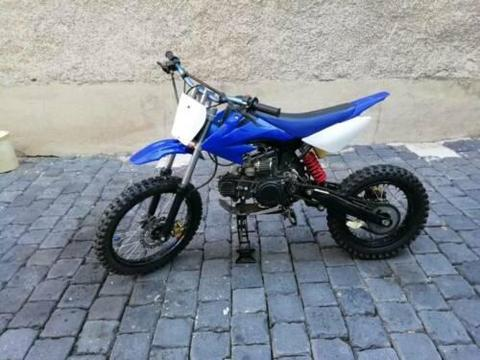 Pit/ dirt bike 125ccm 18ps neuaufbau