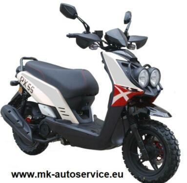 ⭐⭐⭐MKA CrossMaster 125ccm Scooter Roller 6,2KW mit Garantie⭐⭐⭐