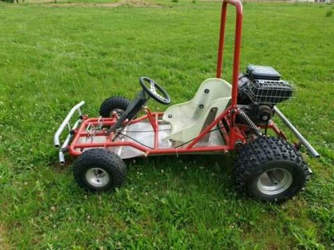 Strand Buggy mit 344ccm 2 Zylinder V-Twin 4 Takt!
