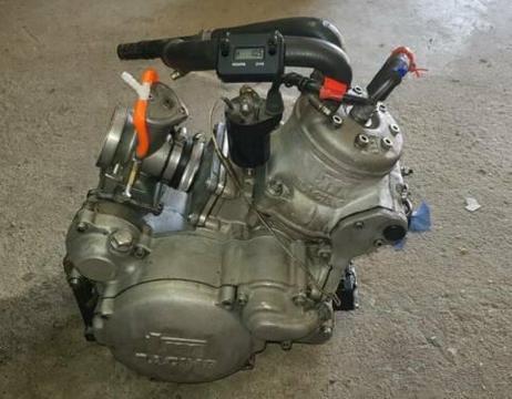 Tm 125ccm Motocross motor rennkart