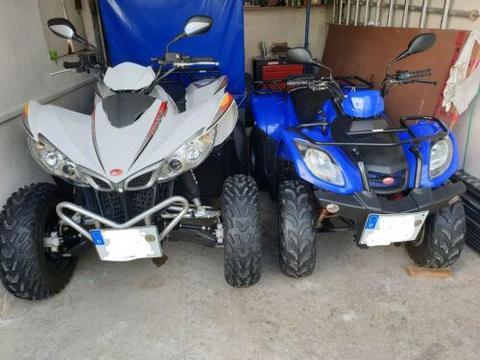 Kymco Mxu 150 und Kymco Maxxer 450 i