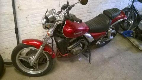 Über 1000 Motorrad-Gebrauchtteile +1 Kawasaki EL 250 +2x GPZ500S